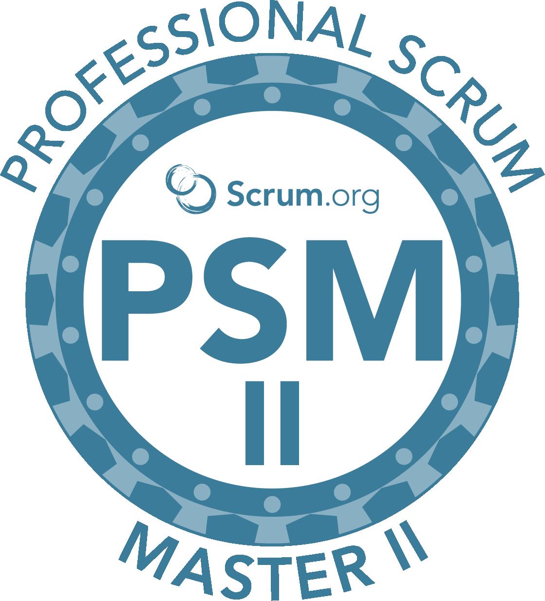 professional scrum master II online